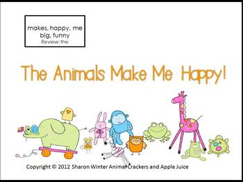 A Sight Word Reader for Early Learners: The Animals Said
