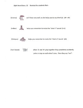 A Sight Word Story 22