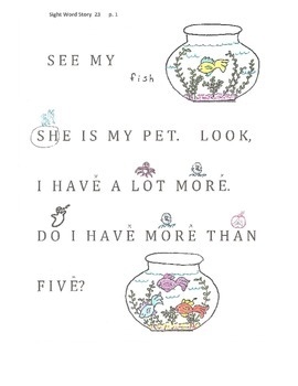 A Sight Word Story 23