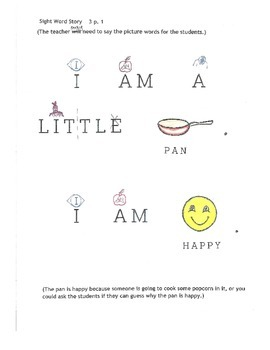 A Sight Word Story - Free Sample Pages