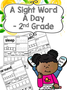 A Sight Word a Day Keeps the Doctor Away - 2nd Grade