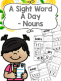 A Sight Word a Day Keeps the Doctor Away - Nouns