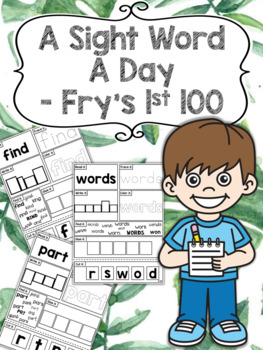 A Sight Word a Day Keeps the Doctor Away - Fry's 1st 100