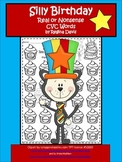 A + Silly Cat Birthday: Real Or Nonsense Words