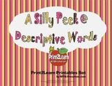 A Silly Peek @ Descriptive Words {Literacy Activity}