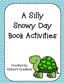 A Silly Snowy Day Book Activities