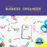 A Simple Business Organizer for Writers