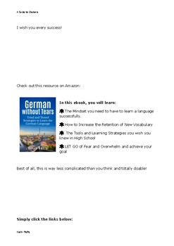 A Simple Guide to Learn German Vocabulary