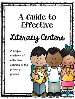A Simple Guide to Literacy Centers