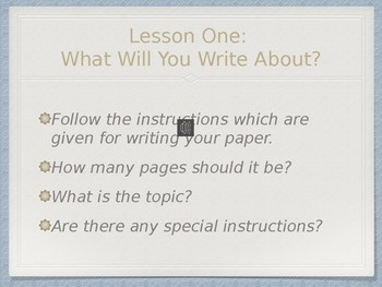 A Simple Guide to Writing Research Papers Powerpoint Presentation