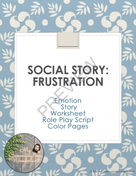 A Simple Social Story about Frustration
