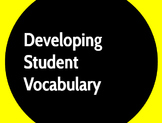 A Simple System for Profound Vocabulary Development