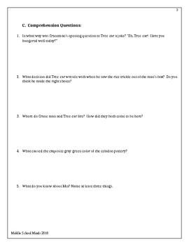 A Single Shard Unit Plan with Answer Key