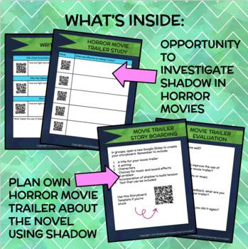 A Skinful of Shadows Novel Study + STEAM BUNDLE