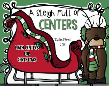 A Sleigh Full of Centers {Christmas Math Activities}