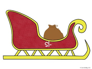 A Sleigh Full of Goodies: An s blends sort FREEBIE
