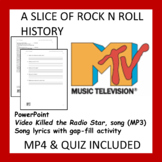 A Slice of Rock n Roll History (Activity Included)