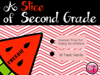 A Slice of Second Grade ~Task Cards~ Freebie