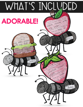 Back to School Writing & Word Work - A Slice of Summer