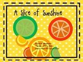 A Slice of Sunshine Citrus Clip Art