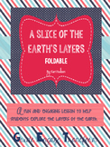 A Slice of the Earth's Layers Foldable
