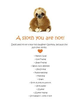 A Sloth you are not