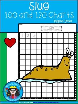 A+ Slug: Numbers 100 and 120 Chart