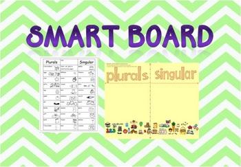 A Smartboard Activity - Plural Practice
