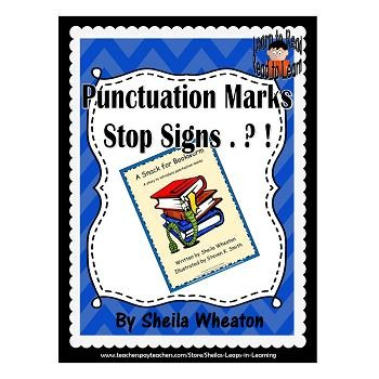 A Snack for Bookworm:  A READ TO LEARN Book About Punctuation Marks