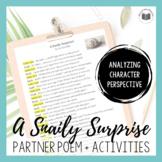 """A Snaily Surprise!"" {Partner Perspective Poem}"