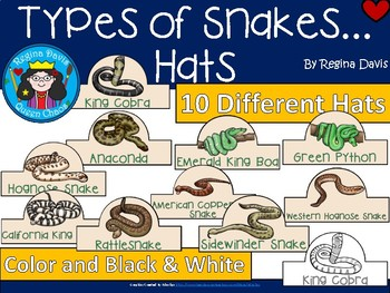 A+ Snakes: Different Types... Hats