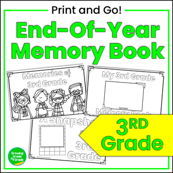 End-of-Year Memory Book for 3rd Grade