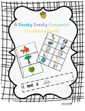 A Sneaky Snacky Squirrel Companion - Vocabulary Bundle