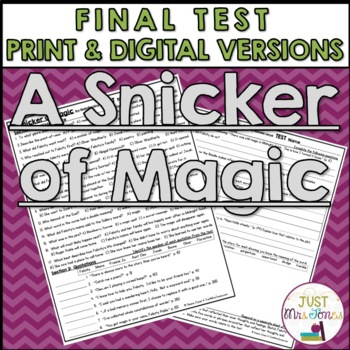 A Snicker of Magic Final Test