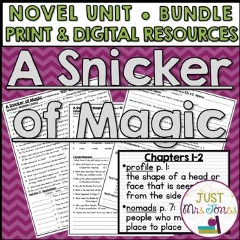 A Snicker of Magic Novel Unit