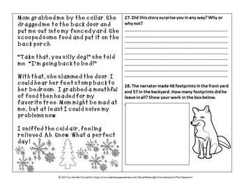 A Snow Day: An Integrated Packet Incorporating Math, Reading, and Writing