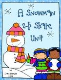 A Snowman 2D Shape Unit