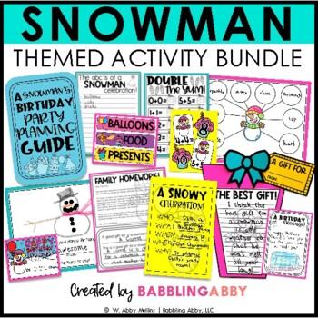 A Snowman Celebration!