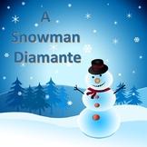 A Snowman Diamante