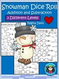 A+ Snowman Dice Roll: Balancing Out Equations
