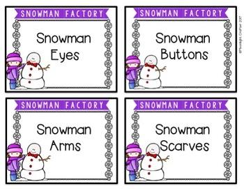 A Snowman Factory: Making INDOOR Snowmen!