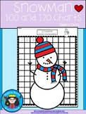 A+ Snowman Numbers 100 and 120 Chart