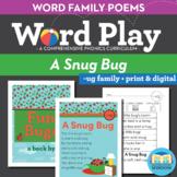 A Snug Bug - ug Word Family Poem of the Week - Short Vowel