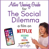 The Social Dilemma Active Viewing Guide {Distance Learning}