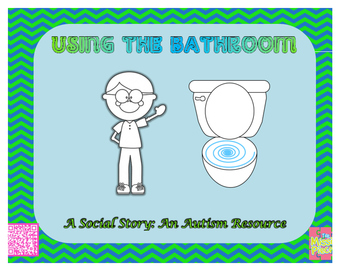 Social Story (Autism) - Special Education: Using The Bathroom