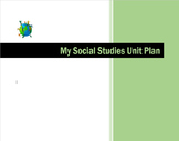 A Social Studies Unit Template You Don't Want to Pass