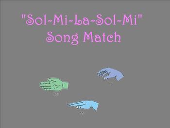 A Sol-Mi-La-Sol-Mi Song Match
