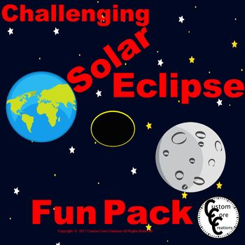 A Solar Eclipse 2017 Fun Pack