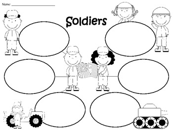 A+ Free...Soldier: Graphic Organizers