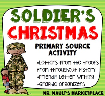 A Soldier's Christmas Fundraiser: Letters, Poems and Songs from American  Troops
